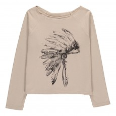 Sweat Coiffe Indienne Picketi Beige