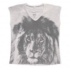 T-Shirt Lion Parado Blanc