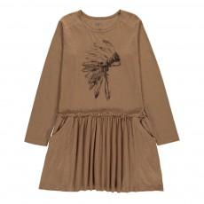 Robe Coiffe Indienne Pilari Camel