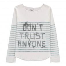 T-Shirt Rayé Priamar Blanc