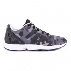 Baskets Camouflage Lacets ZX Flux Gris anthracite