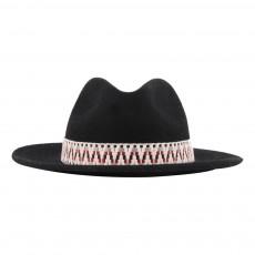 Chapeau Feutre Horse Noir