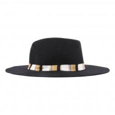 Chapeau Feutre de Laine Felice Noir