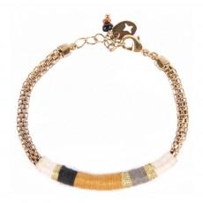 Bracelet Dino Doré