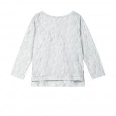 T-shirt Matelassé ML Blanc cassé