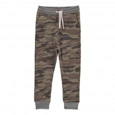 Jogger Loose Camouflage Vert kaki