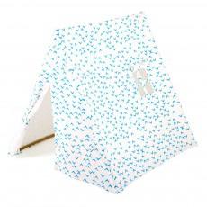 Tente en coton bio - hirondelles bleues