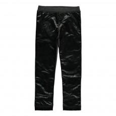 Legging Similicuir Lurex Lunga Noir