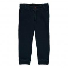 Pantalon Chiné Ono Bleu marine