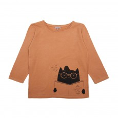 T-Shirt Chat Caramel