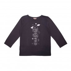 T-Shirt Marelle Gris anthracite
