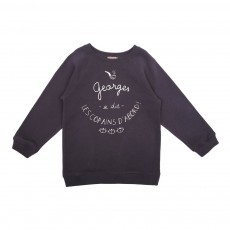 Sweat Georges Gris anthracite