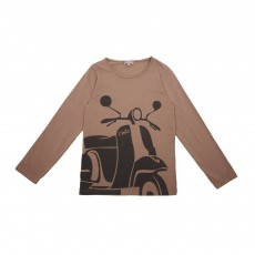 T-Shirt Scooter Taupe