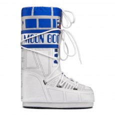Star Wars - Moon Boot Sw R2-D2 Blanc