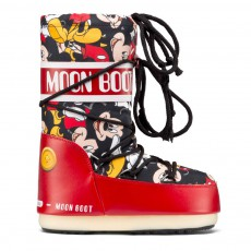 Moon Boot Jr Mickey Rouge