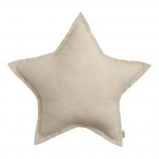 Coussin étoile Naturel