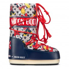 Moon Boot Jr Minnie Bleu