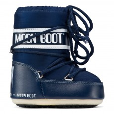 Moon Boot Mini Nylon Bleu marine