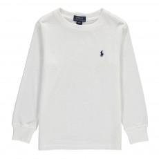 T-Shirt Col Rond Classic Blanc