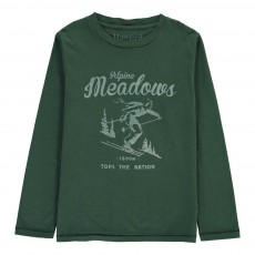 "T-Shirt ""Meadows"" Alpine Vert sapin"