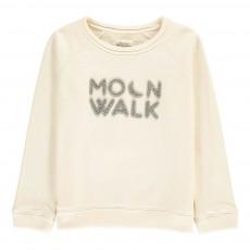 "Sweat ""Moonwalk"" Tweat Blanc cassé"