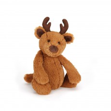 Peluche Renne Bashful Marron