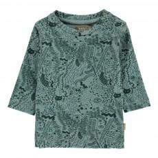 T-Shirt Dessins Bay Vert