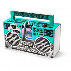 Enceinte façon Ghetto blaster 3.0 avec port USB Yo! MTV raps oldschool Multicolore