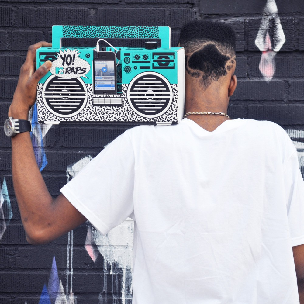 Enceinte fa on ghetto blaster 3 0 avec port usb yo mtv raps oldschool multic - Ghetto blaster acheter ...