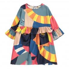 Robe Motifs Géométriques Vivienne Multicolore
