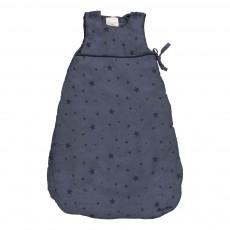 Gigoteuse en coton étoiles bleues Bleu