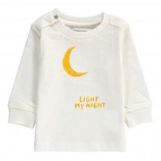 T-Shirt Lune Coton Bio Blanc