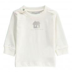 T-Shirt Maison Coton Bio Blanc