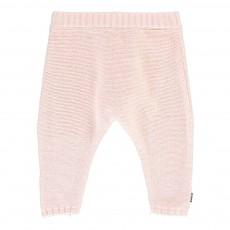 Pantalon Maille Rose pâle
