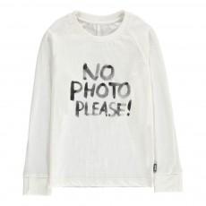 T-Shirt Photo Coton Bio Blanc