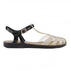 Sandales Plastique Laida Doré