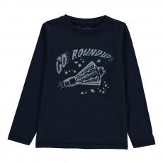 T-Shirt Fusée Roundup Bleu marine