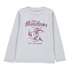 "T-Shirt ""Meadows"" Alpine Gris clair"