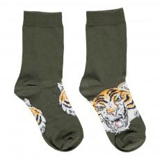 Chaussettes Tigre Trumpet Vert kaki