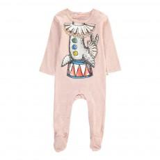 Pyjama Otarie Cirque Twiddle Rose chiné