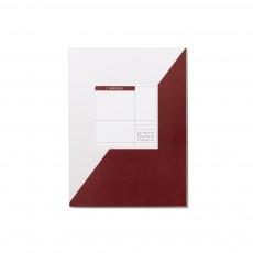 Cahier à projets l'Agréable 72 pages Bordeaux