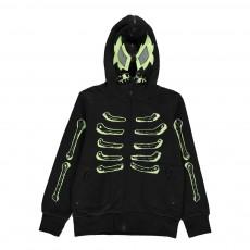 Sweat Squelette Bandit Noir