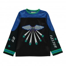 T-shirt Monstre Ryder Bleu marine