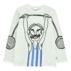 T-shirt Altérophile Georgie Blanc