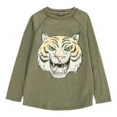T-shirt Tigre Max Vert kaki