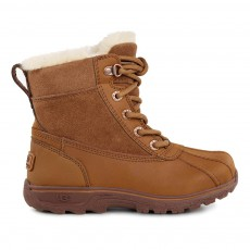 Boots Lacets Cuir Imperméables Fourrées  Leggero Camel