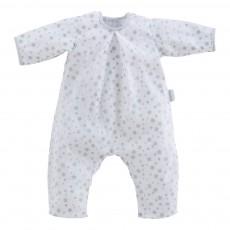 Mon Classique - Pyjama Blanc Etoiles 52 cm Bleu