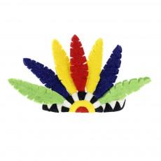 Coiffe d'indien Multicolore