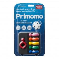 Crayons de couleur effaçables bague - Set de 6 Multicolore