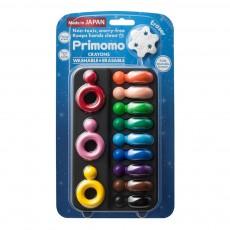 Crayons de couleur effaçables bague - Set de 12 Multicolore